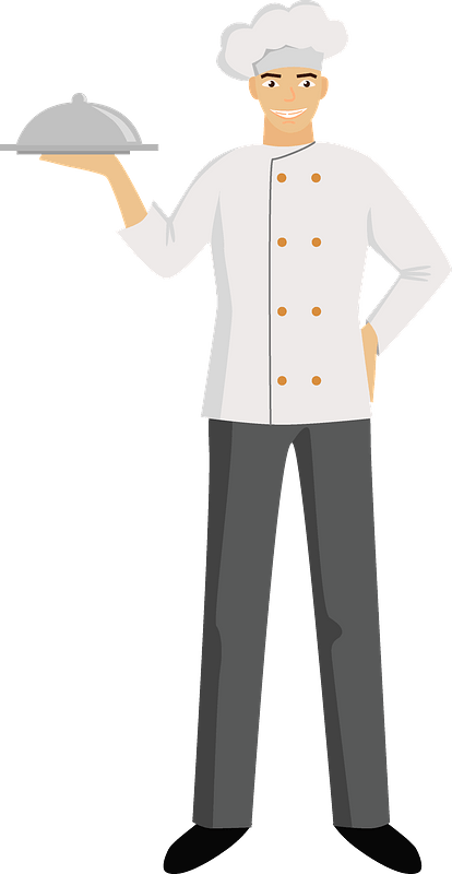 The Chef Makes Bread, Chef Clipart, Bread Clipart, Chef PNG Transparent  Clipart Image and PSD File for Free Download
