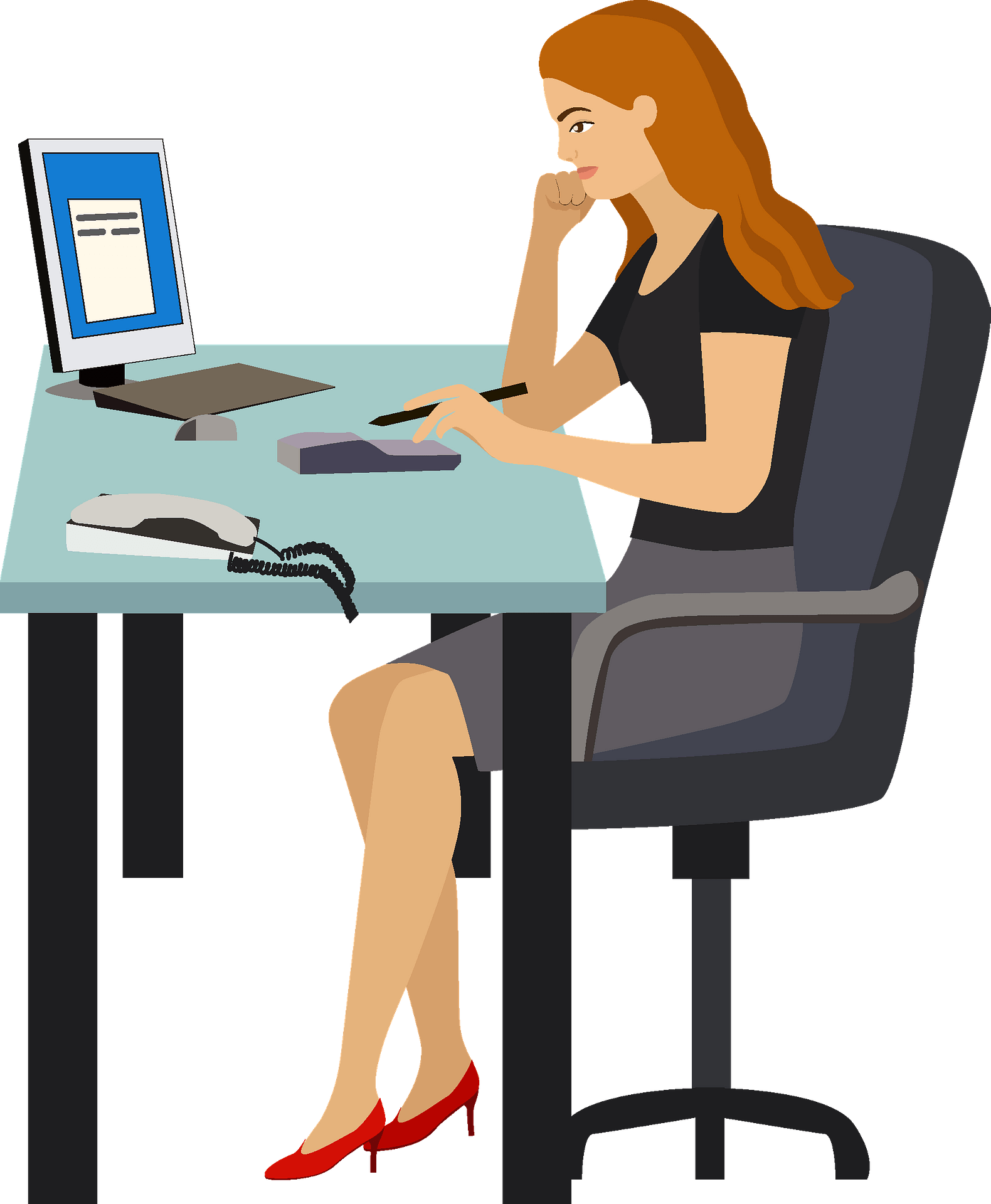 Accounting clipart woman, Accounting woman Transparent FREE for download on  WebStockReview 2020