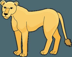 Lioness 클립 아트