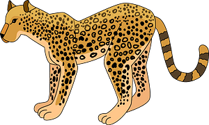 Leopard кліпарт