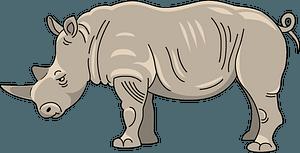 Rhinoceros clipart