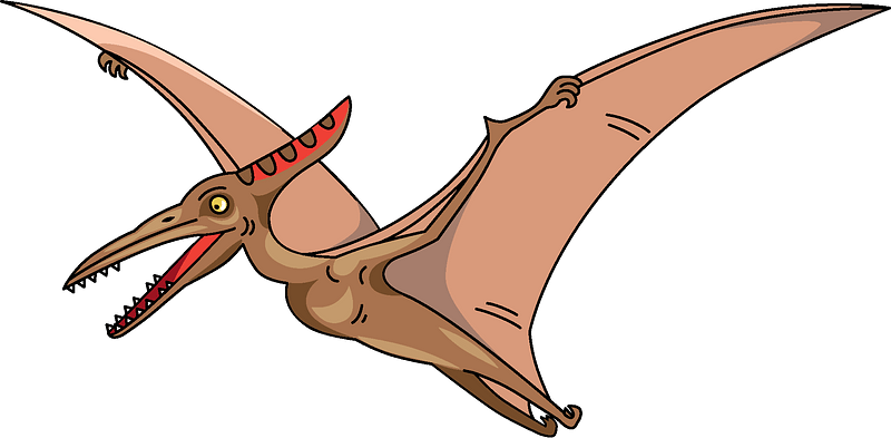 Pterodactyl clipart