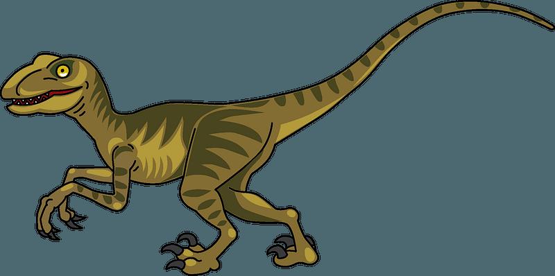Velociraptor clipart
