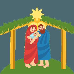 Christmas nativity 剪贴画