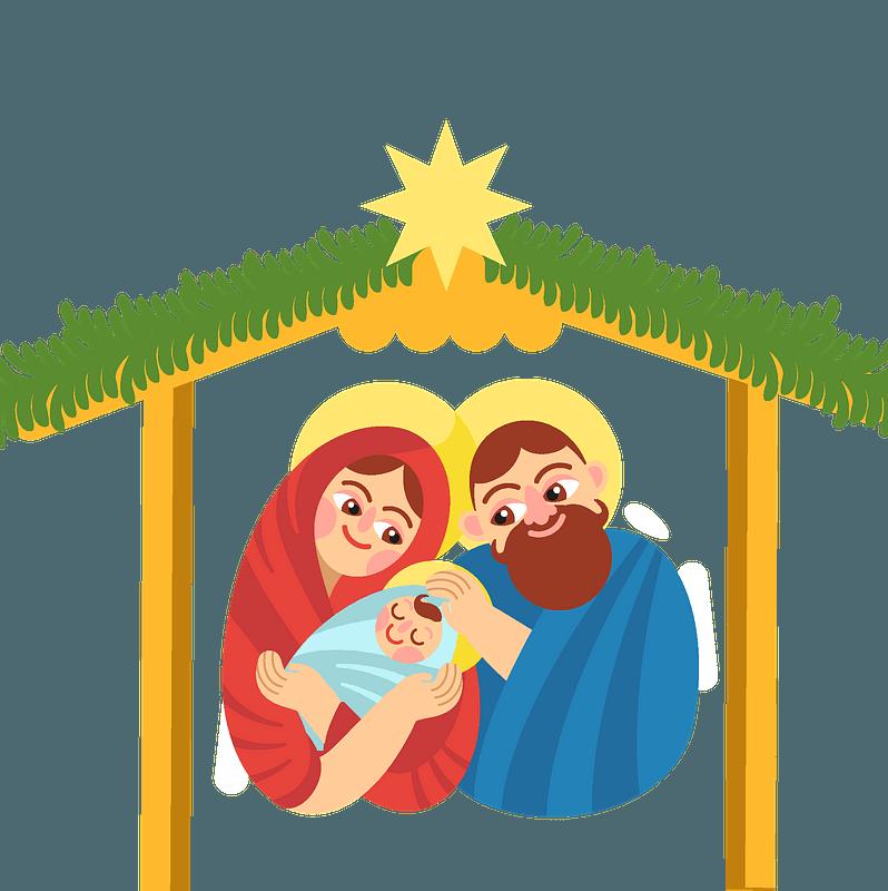 Christmas Nativity Clipart Free Download Transparent Png Creazilla