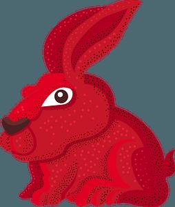 Trippy Bunny clipart