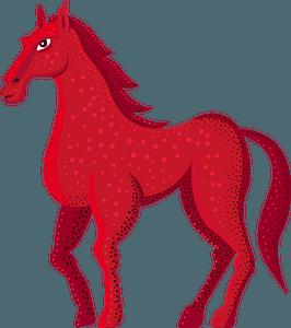 Red Horse кліпарт