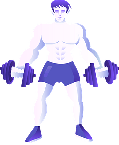 Dumbbell immagine clipart