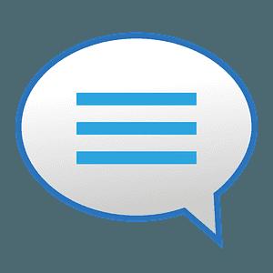 Speech balloon emoji clipart