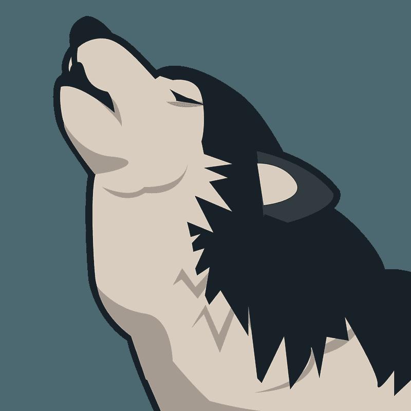 Wolf Emoji Clipart Free Download Transparent Png Creazilla