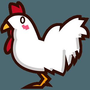 Chicken emoji clipart