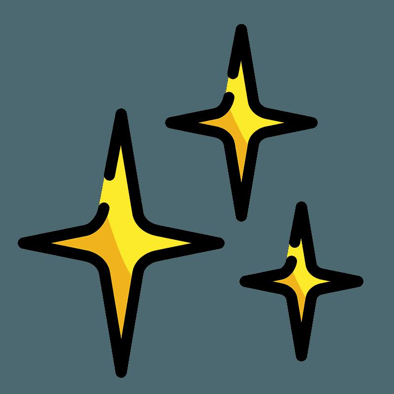 funkelnde sterne clipart kostenloser download  creazilla