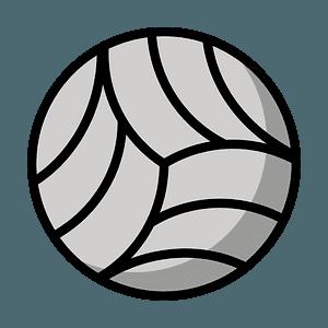 Volleyball emoji clipart