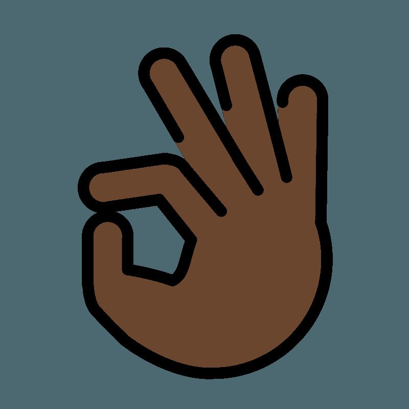 OK hand emoji clipart. Free download transparent .PNG ...
