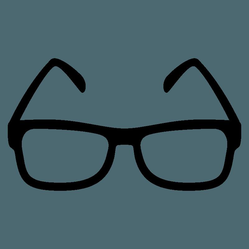 Glasses emoji clipart