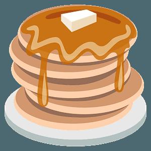 Pancakes emoji clipart
