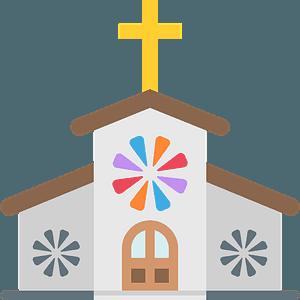 Church emoji clipart