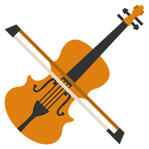 Violin emoji clipart