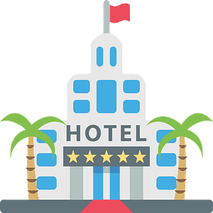 Hotel emoji clipart