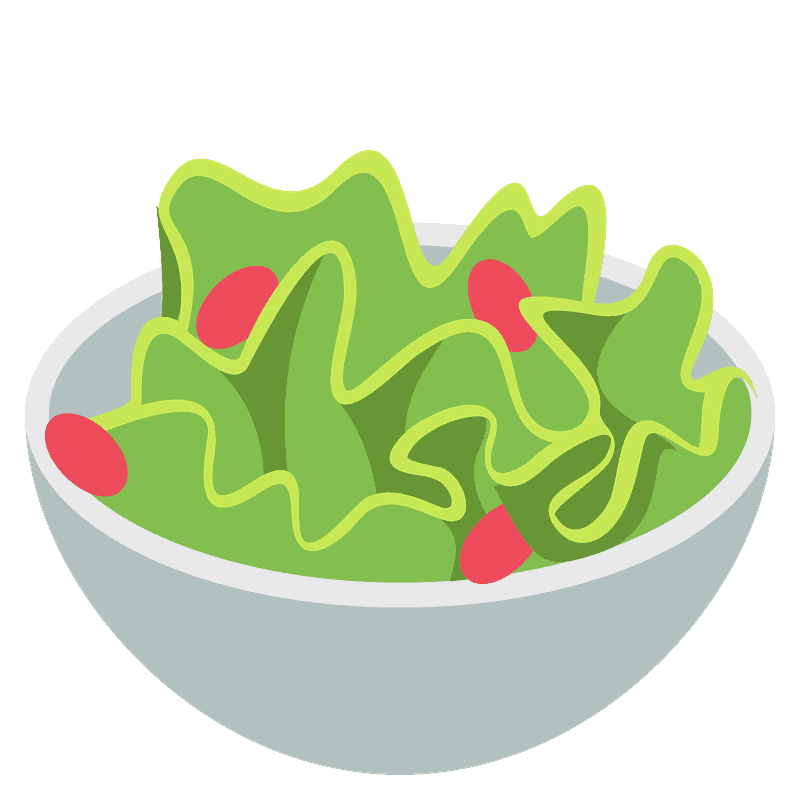 Green Salad Emoji Clipart Free Download Transparent Png Creazilla