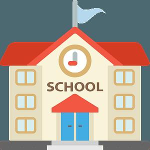 School emoji clipart