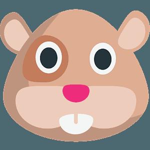 Hamster Clipart Face - Emoji Hamster - Png Download (#3693912) - PinClipart
