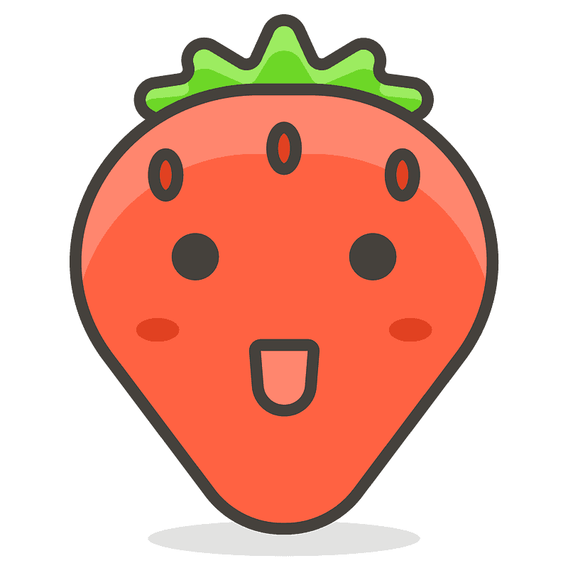 Strawberry Emoji Clipart Free Download Transparent Png Creazilla The strawberry emoji kicks the living sh*t out of other berry emojis. strawberry emoji clipart free download