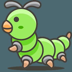 Bug emoji clipart