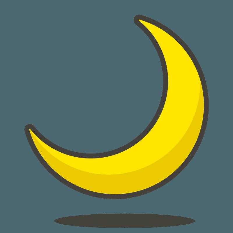 Transparent Moon Clipart Outline - Moon Crescent Moon Graphic , Free  Transparent Clipart - ClipartKey
