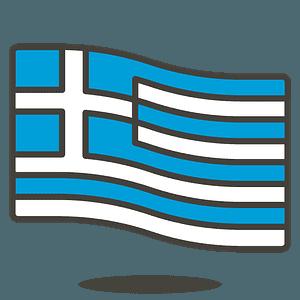 Greece flag emoji clipart