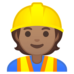 Man Construction Worker Emoji Clipart Free Download Transparent Png Creazilla