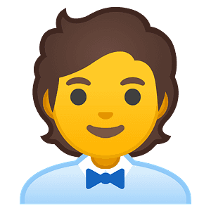 Office worker emoji clipart