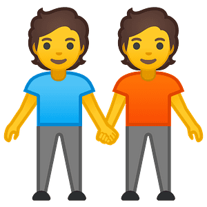 People holding hands emoji clipart