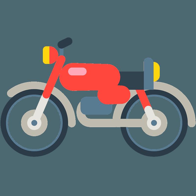 Motorcycle Emoji Clipart Free Download Transparent Png Creazilla