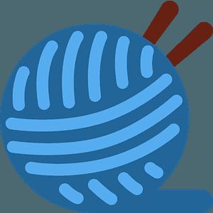 Yarn emoji clipart