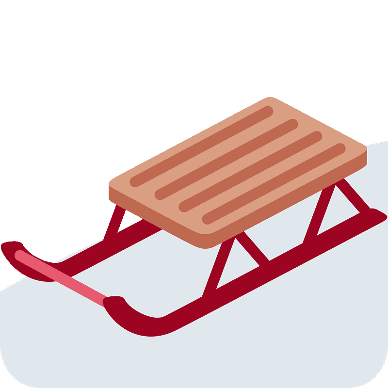Free Santas Sleigh Clip Art with No Background - ClipartKey