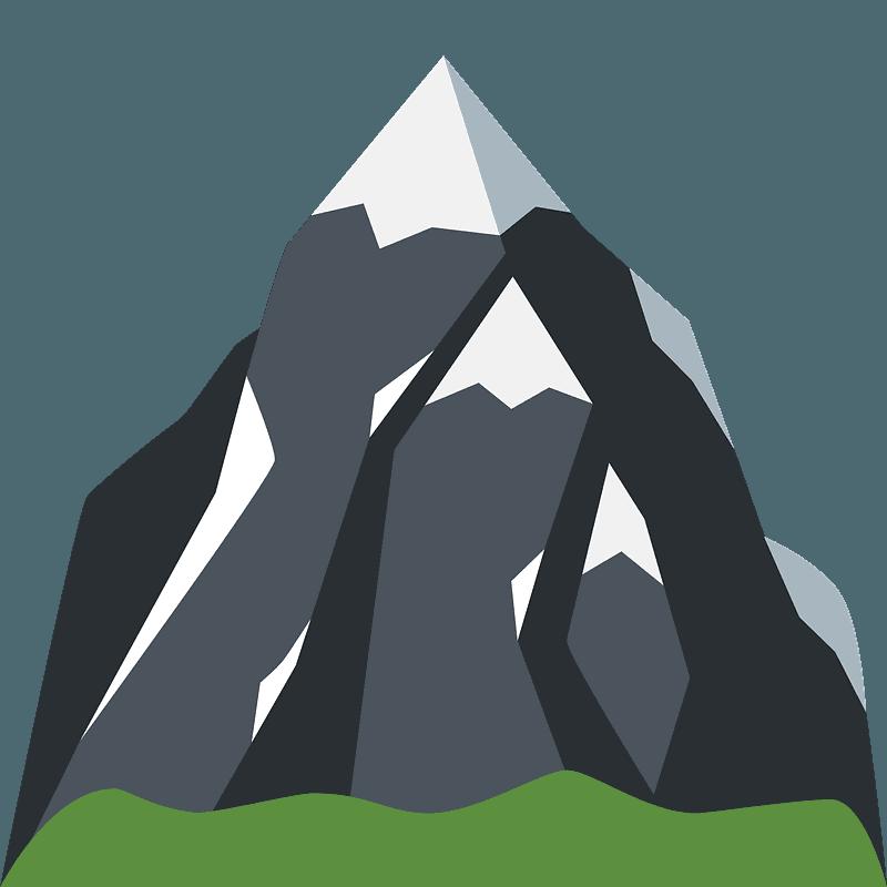 Montagne Enneigee Image Clipart Telechargement Gratuit Creazilla