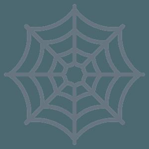 Spider web emoji clipart