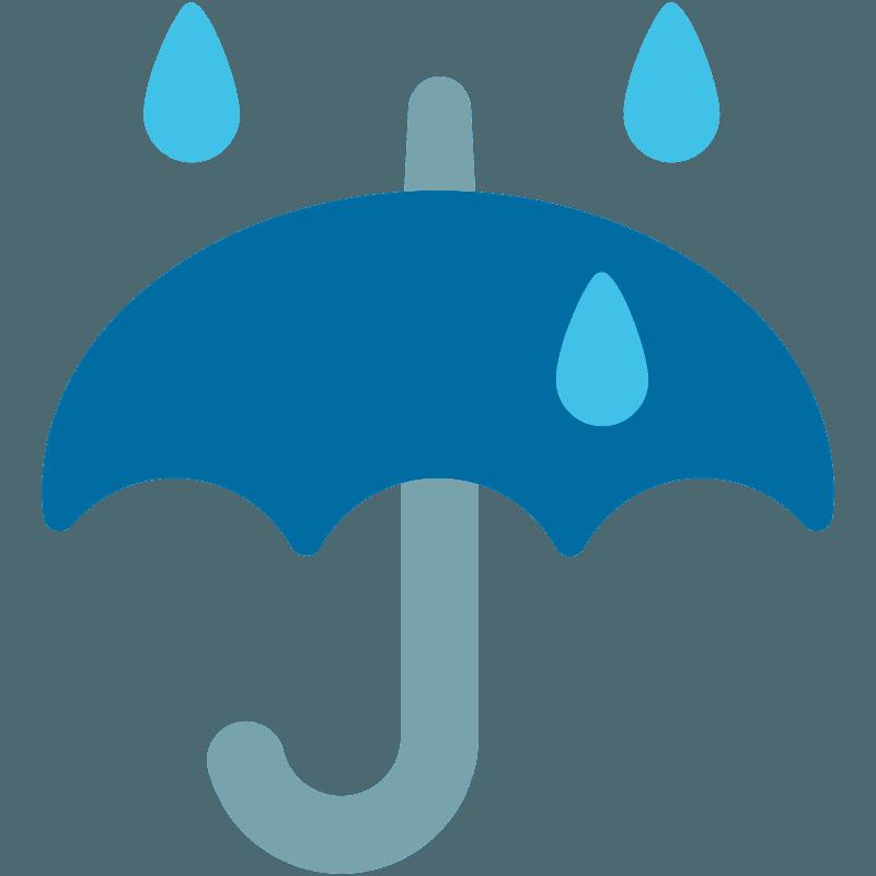 Paraguas Con Gotas De Lluvia Clipart Dibujos Animados Descargar Gratis Creazilla