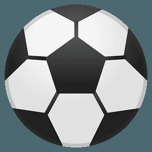 Soccer ball emoji clipart