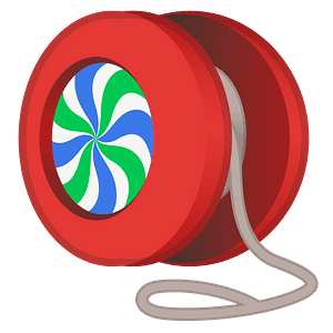 Yo-yo emoji clipart