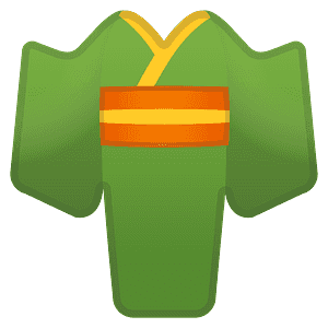 Kimono emoji clipart