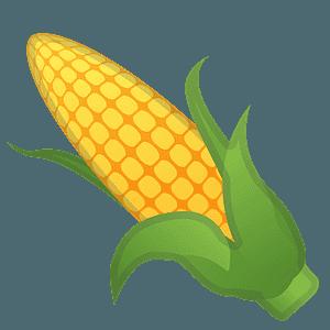 Ear of corn emoji clipart