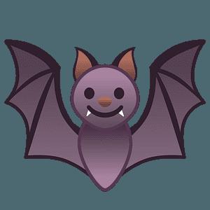 Bat emoji clipart