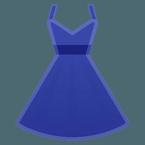 Dress emoji clipart