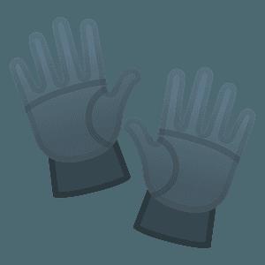 Gloves emoji clipart