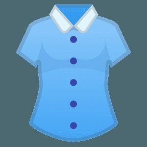 Woman's clothes emoji clipart