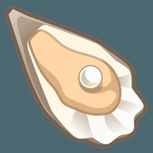 Oyster emoji clipart