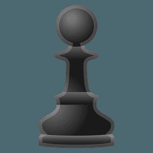 Chess pawn emoji clipart