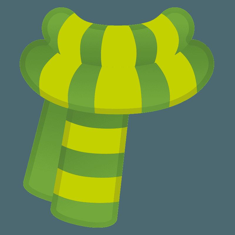 Scarf emoji clipart